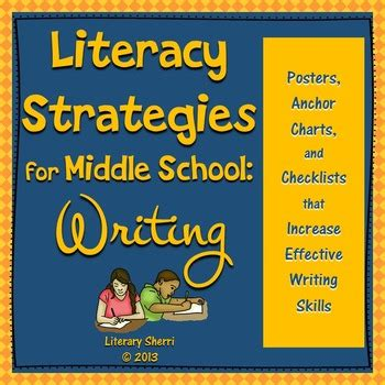 new strategies for teaching middle school health literacy strategies for middle school writing grades 5
