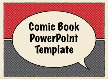 Free Comic Book Presentation Templates For Keynote Or Power Point Edtech Txed Teaching Comic Book Powerpoint Template