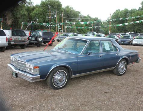 1979 Chrysler Lebaron bangshift start s four speed 1979