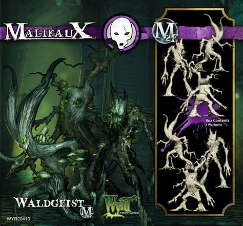 malifaux coloring book waldgeist