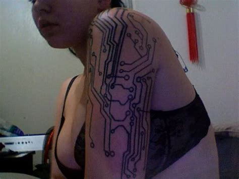 circuitry tattoo 29 best images about electronic circuit on