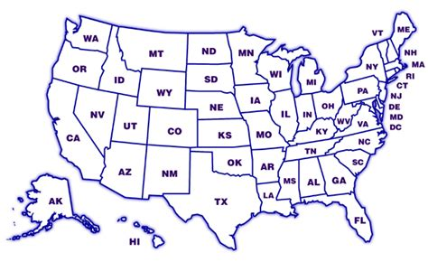 political map of america without names us map of states without names cdoovision