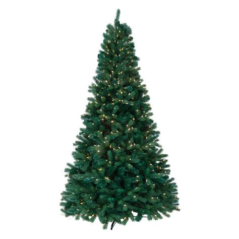 ashland pre lit windham spruce national tree company 7 5 ft powerconnect snowy imperial blue spruce artificial tree