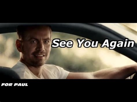 【fast & furious7】see you again [wiz khalifa] 〜ポールに捧ぐ