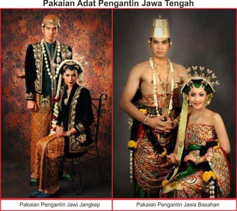 baju jawa tengah jawa barat 34 pakaian adat beserta nama dan asal provinsinya di indonesia