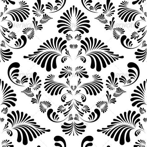 floral pattern all over cdr seamless floral background graphicriver