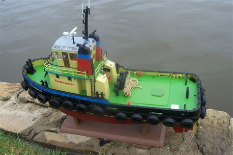 rc tug boat the scale modeler trains boats ships sailplanes