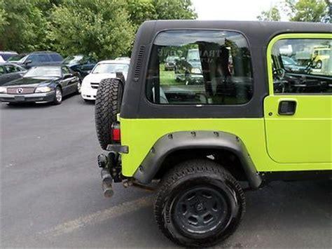 Jeep Custom Paint Sell Used No Reserve 1995 Jeep Wrangler 4x4 Custom Paint