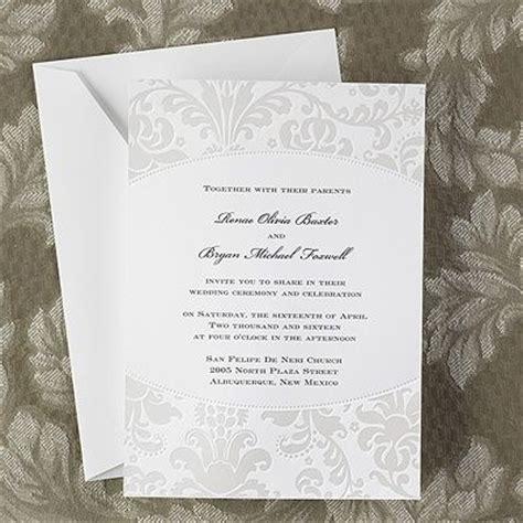 pearlized wedding invitations 33 best damask wedding invitations images on