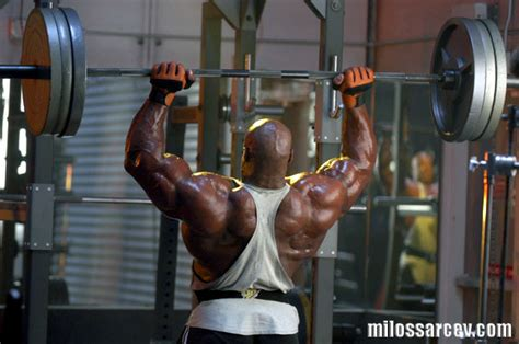 ronnie coleman bench press record fitness september 2005