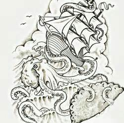 Giant Eagle Flowers - kraken drawing drawing images