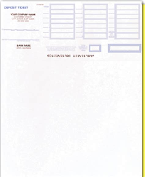 Quickbooks Supplies Deposit Slip Template For Quickbooks