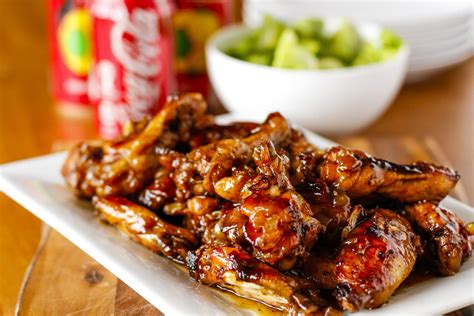 crispy coca cola baked chicken wings unsophisticook