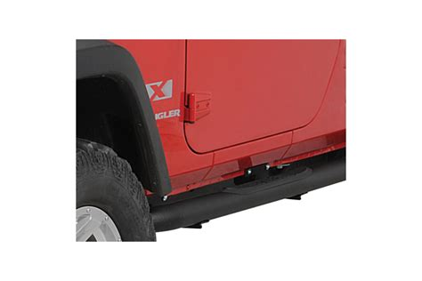 rugged ridge side steps rugged ridge 3in side steps textured black jeep