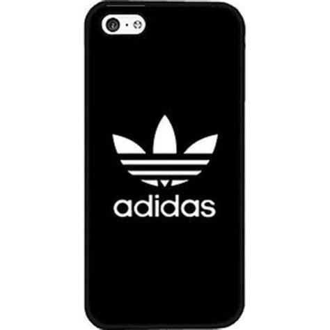coque iphone 6 plus adidas noir logo blanc simple logo etui housse bumper neuf sous blister