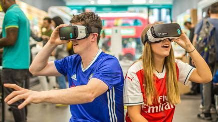 epl virtual sports watch arsenal v chelsea in vr from bt sport bt