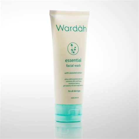 Pembersih Wajah Natur E beautifull wardah nature daily hydrating skin basicseries normal to