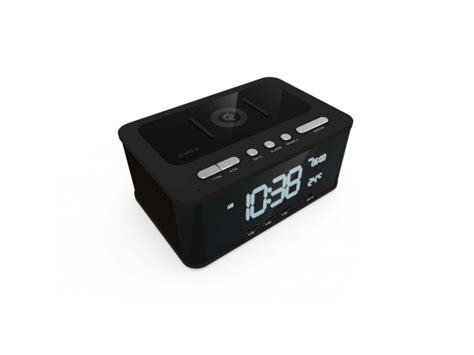 qi charger speaker qi wireless charging alarm clock bluetooth speaker