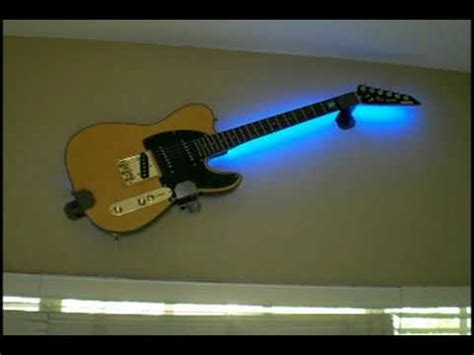 light up guitar wall mount lighted guitar wall mount 12 musical inspirations to