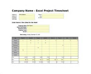 Time Sheets Template Excel by Timesheet Template 29 Free Word Excel Pdf Documents