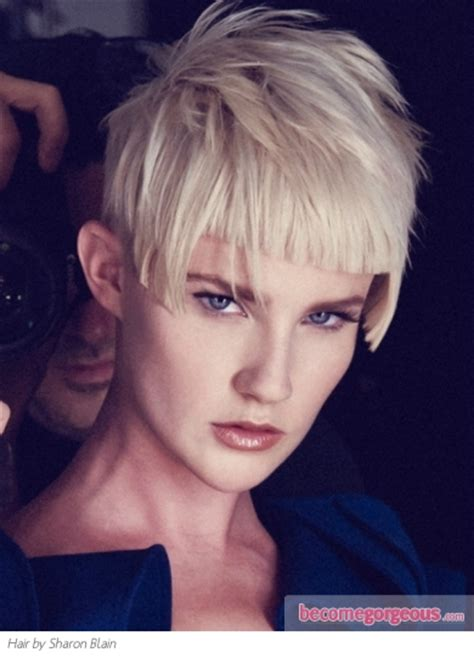 become gorgeous short hair gallery pictures pictures short hairstyles voguish short choppy haircut