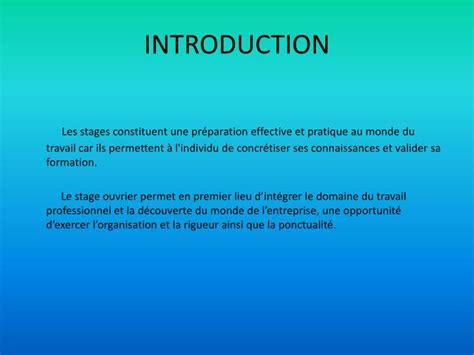 ppt rapport de stage powerpoint presentation id 3278817
