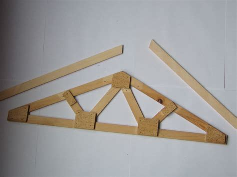Handmade Web - plans how to build make your own custom size web wood roof