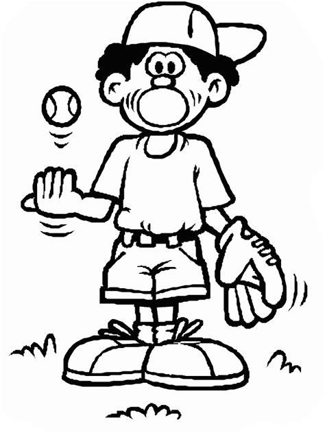 coloring pages free printable baseball baseball coloring pages coloringpages1001
