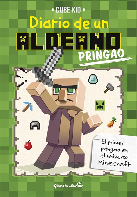 libro minecraft en busca de minecraft diario de un aldeano pringao planeta de libros