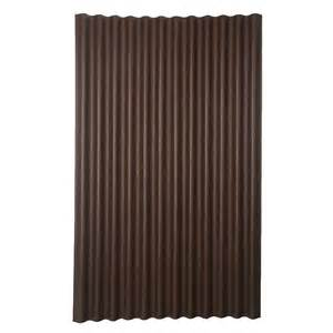 corrugated plastic home depot ondura 6 ft 7 in x 4 ft asphalt corrugated roof panel