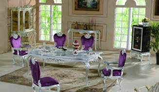 Used Dining Room Set Purple Dining Room Set Alliancemv