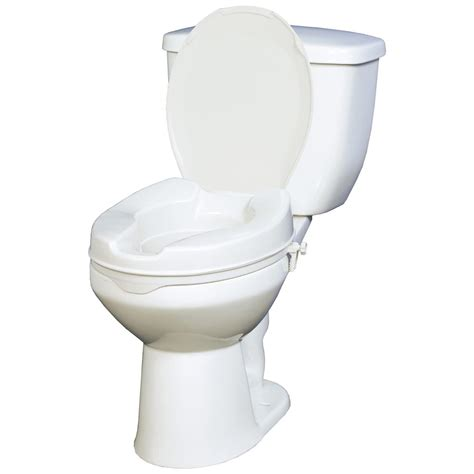 raised toilet seat 4 quot raised toilet seat with lid 171968 independent