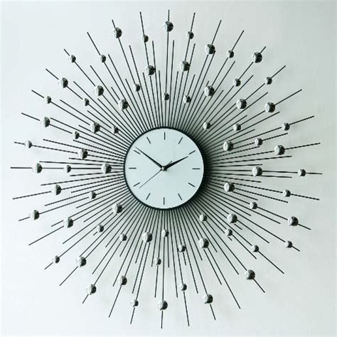 unique wall clock fashion and art trend unique creative and stylish wall
