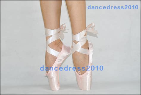 Balet Import All Size new professional satin ballet pointe shoes ribbon toe shoe all size ebay