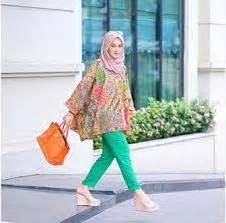 Tunik Wanita Parang Pelangi B 25 model baju batik keris wanita modern terbaru 2018 limited edition