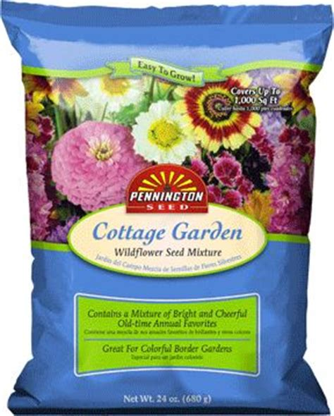 cottage garden seeds pennington s large seed mix bags 4 types cottage