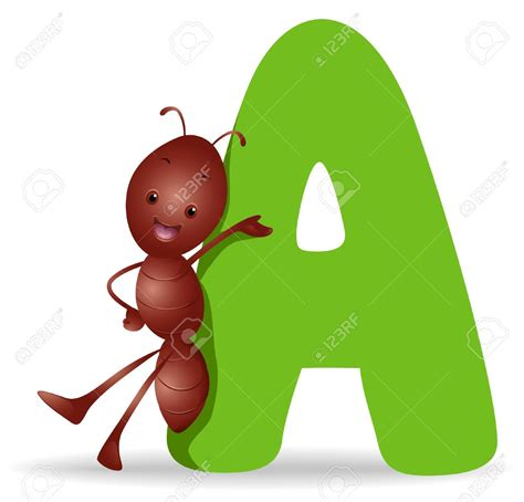 Letter A Images ant clipart letter a pencil and in color ant clipart