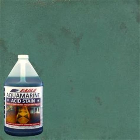 eagle 1 gal aquamarine concrete acid stain edadq the