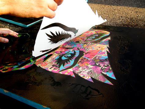 spray paint stencil prints icanvas b9 2d drawing mchs ap studio