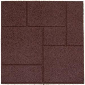 home depot rubber flooring tiles just saw these in home depot the weekend recycled rubber outdoor flooring tiles for
