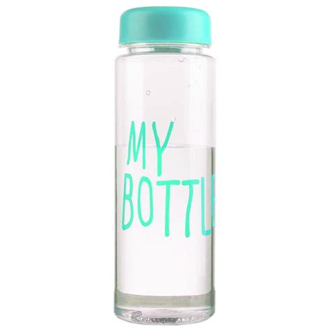 Botol Minum My Bottle Termurah botol minum plastik bening juice lemon my bottle 500ml blue jakartanotebook