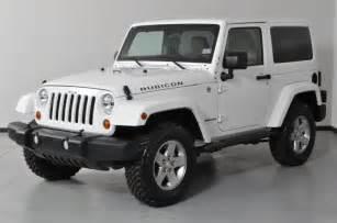 2 Door White Jeep Wrangler 2015 2 Door Jeep Rubicon For Sale Autos Post