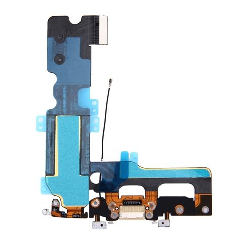 replacement for iphone 7 plus charging port flex cable white alex nld
