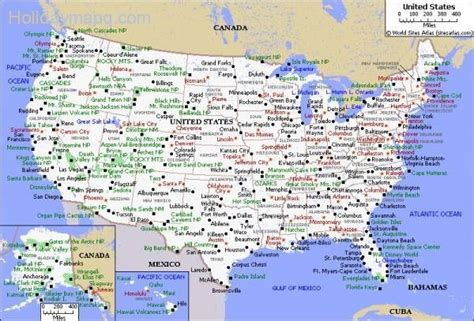 printable us map with cities all the cities in usa holidaymapq com