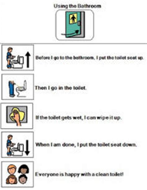 bathroom visual schedule related keywords bathroom
