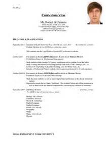 robert clemens curriculum vitae