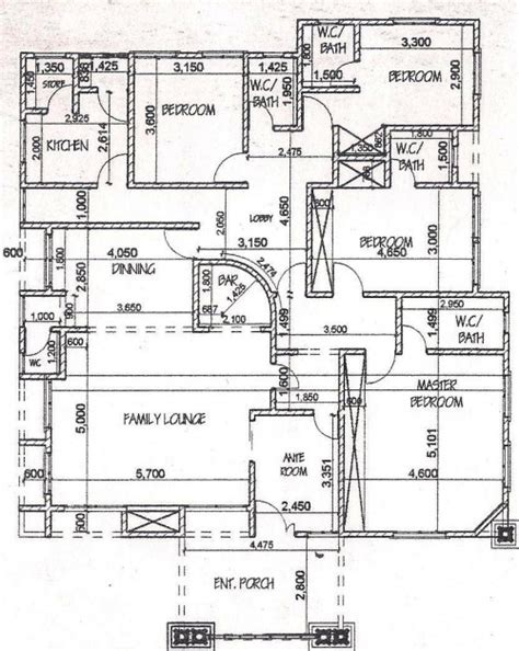 5 Bedroom Bungalow House Plans by House Plans In Nigeria House Floor Plans