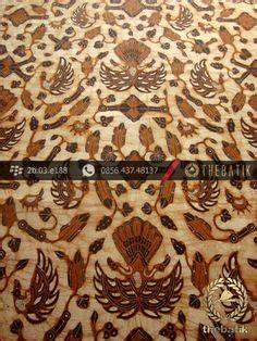 Kain Batik Cap Follisima 006 kain batik jawa sogan motif sekarjagad coklat antik batik http thebatik co id kain batik