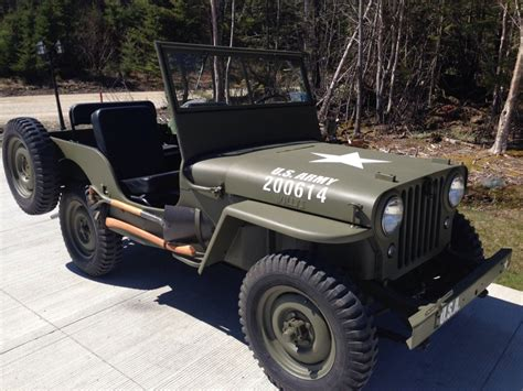 Jeep Willy For Sale 1946 Jeep Willys For Sale