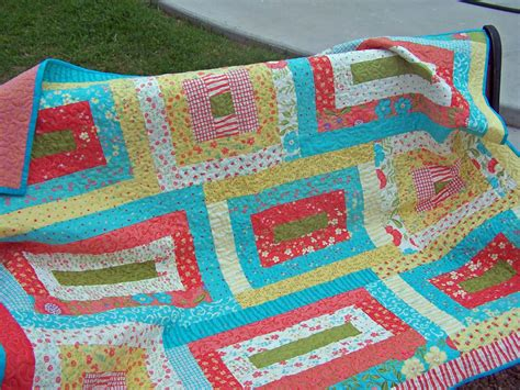 Jelly Rolls Quilt by Treasures N Textures Jelly Roll Quilt